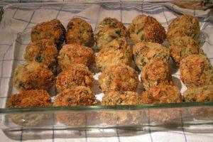 Florentine Chicken Meatballs