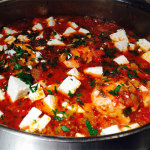 chicken with tomatoes and feta cheese
