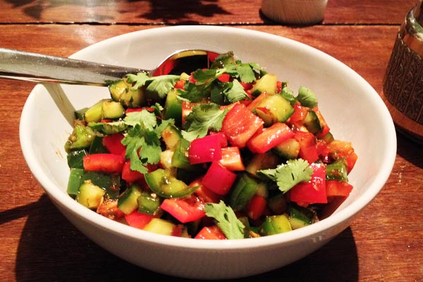 Asian Flavored Red and Green Salsa
