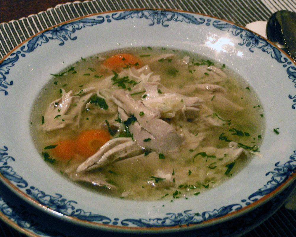 Meaty Chicken Soup